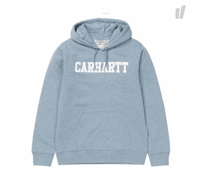 Carhartt Hooded College Dusty Blue/White