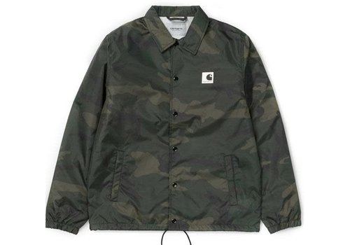 Carhartt WIP Carhartt Sports Coach Jacket Camo Green/Wax