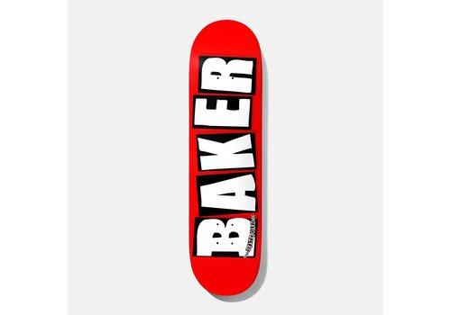 Baker Baker - Brand Logo White 8.25