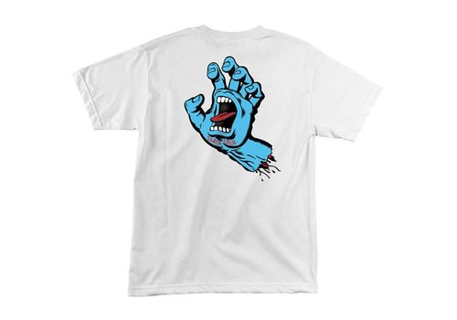 Santa Cruz Santa Cruz Screaming Hand Tee White