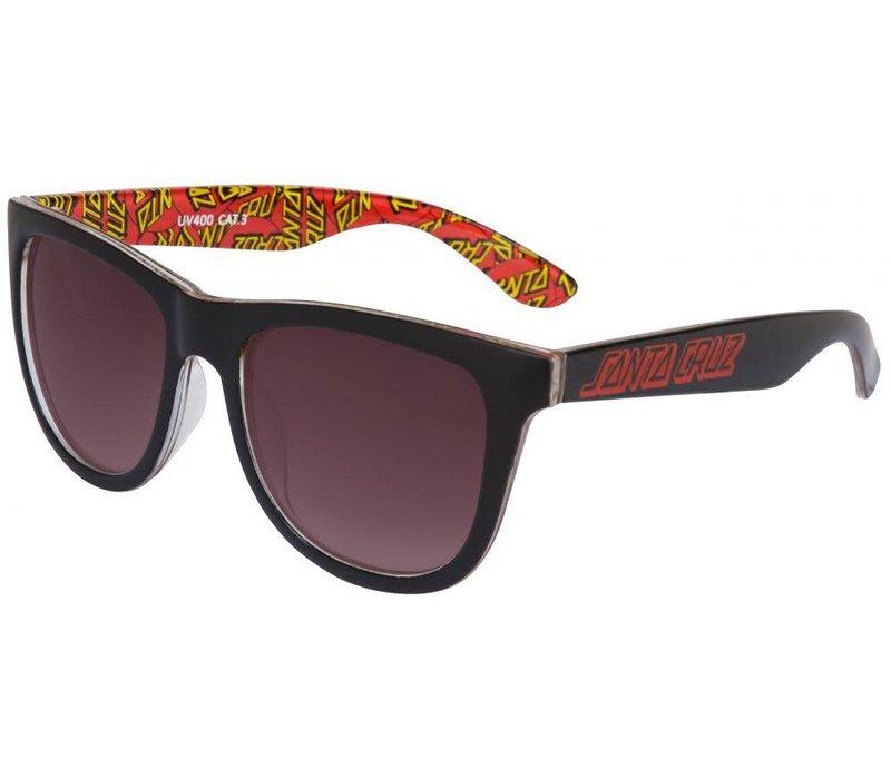 Santa Cruz Classic Dot Sunglasses Black
