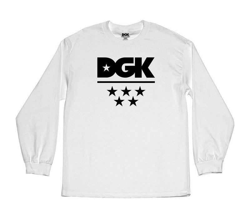 DGK All Star Longsleeve White