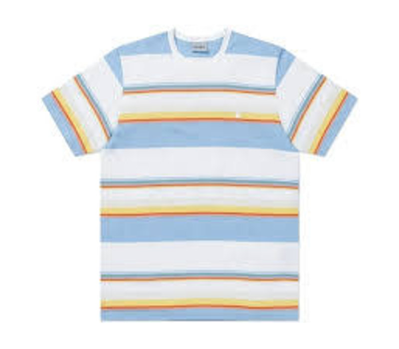 Carhartt Sunder Shirt Strip/White/Wax