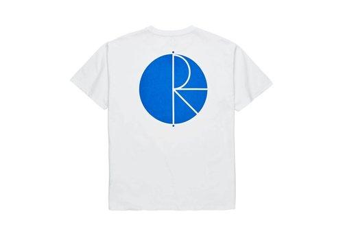 Polar Polar Fill Logo Tee White/Blue