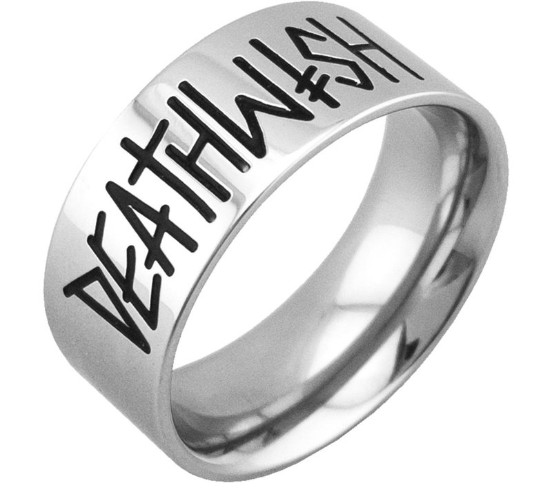 Deathwish Deathspray Silver Ring