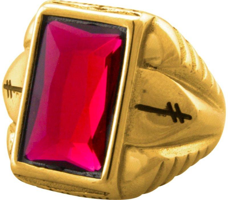 Deathwish Ellington Gold Ring