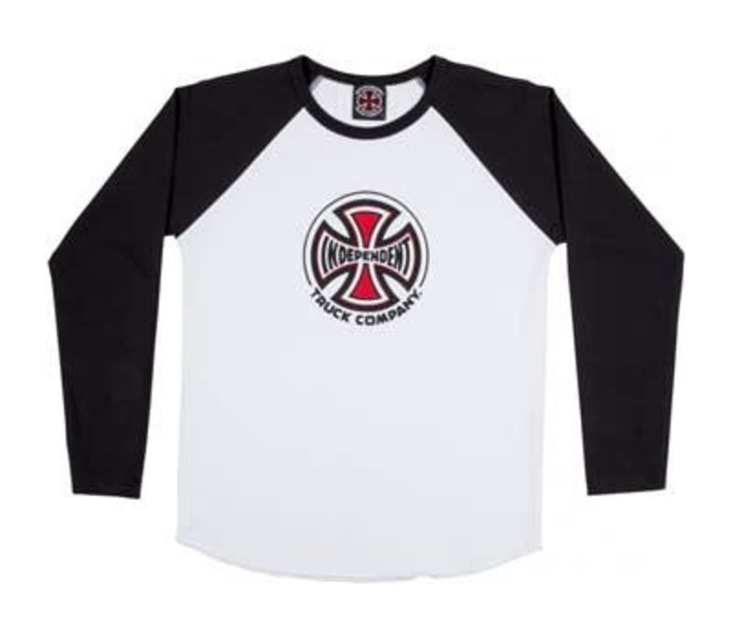 Independent Youth Truck Co Baseball Black/White