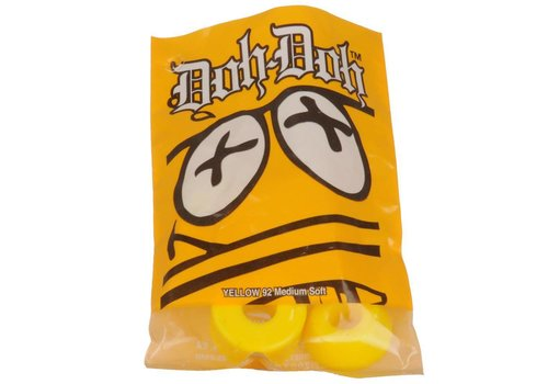 Shorty's Doh Doh Bushings Yellow 92Du Medium Soft