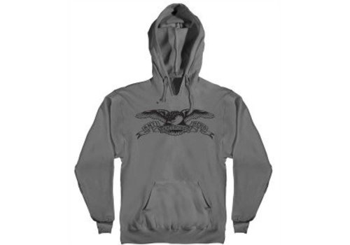 Anti Hero Anti Hero Eagle Hoodie Charcoal/Black