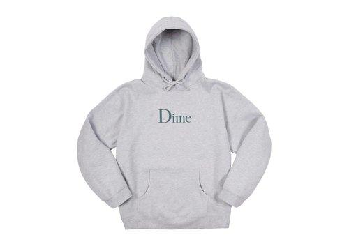 Dime Dime Classic Logo Hood Heather Grey