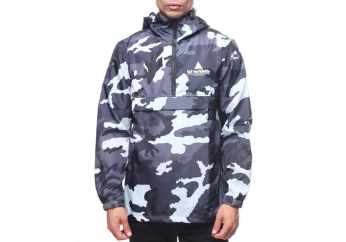 HUF Huf Peak Anorak Jacket White Camo