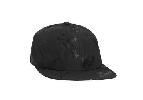 HUF Huf Peak 6 Panel Hat Black