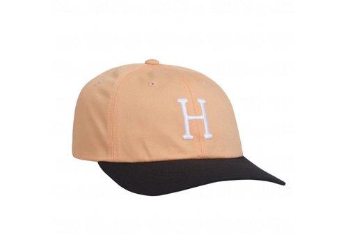 HUF Huf Classic H Curved Visor Peach