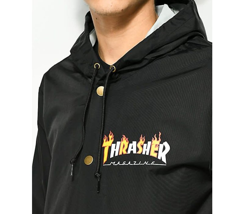 Thrasher Flame Mag Jacket