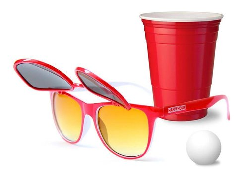 Happy Hour Happy Hour Red Cup + Sunglasses Pack