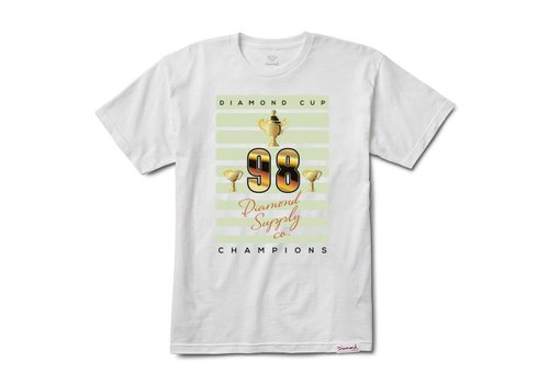 Diamond Diamond Cup Tee White