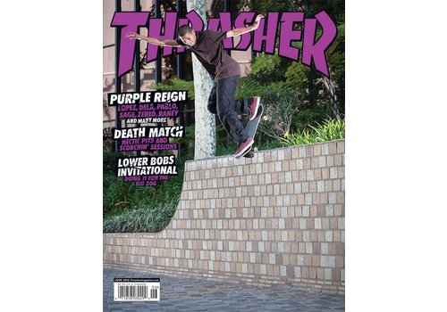 Thrasher Thrasher Magazine June 2018
