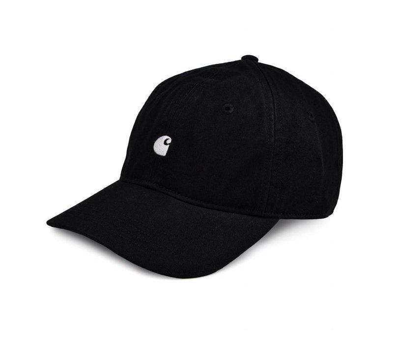 Carhartt Madison Logo Cap Black/White