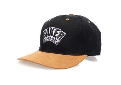 Baker Baker Arch Velcro Strap Cap Black/Brown