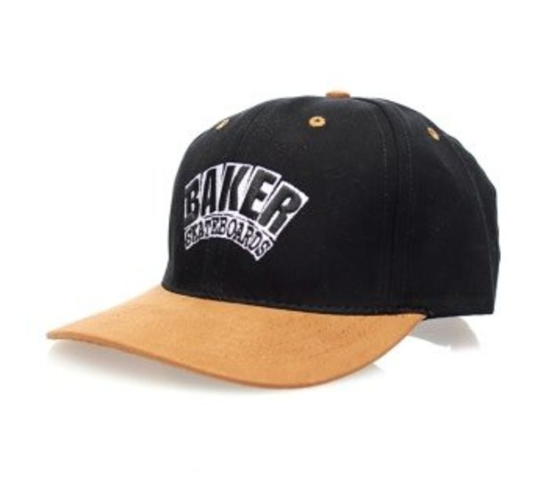 Baker Arch Velcro Strap Cap Black/Brown