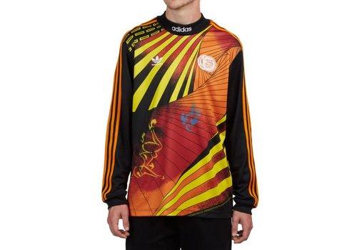 Adidas Adidas Nakel Jersey Black/Yellow/Borang