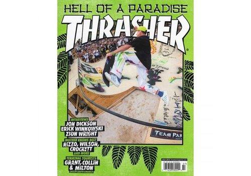 Thrasher Thrasher Magazine July 2018 (Free Stickers Inside)