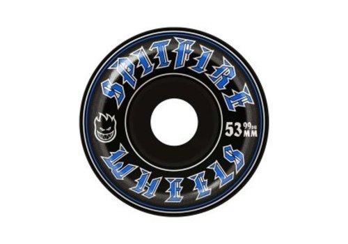 Spitfire Spitfire Wheel Old English Black 53mm