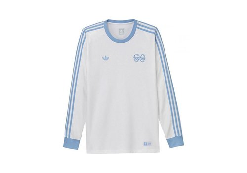 Adidas Adidas Krooked LS Jersey White/Blue