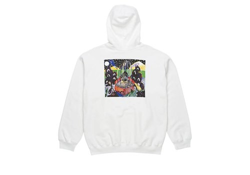 Polar Polar Fountain Hoodie White