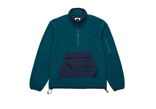 Polar Polar Gonzalez Fleece Jacket Navy / Green