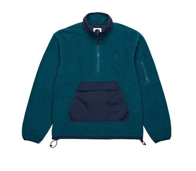 Polar Gonzalez Fleece Jacket Navy / Green