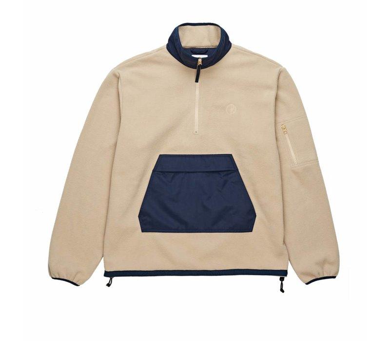 Polar Gonzalez Fleece Jacket Navy / Sand
