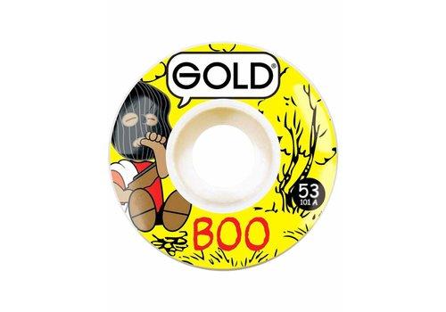 Gold Gold Wheels - Boo Gang 53mm 101a