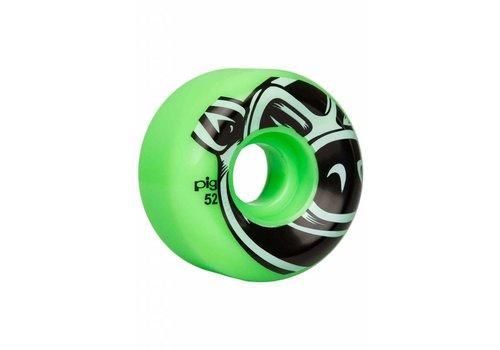 Pig Pig USA Wheels Green 52mm