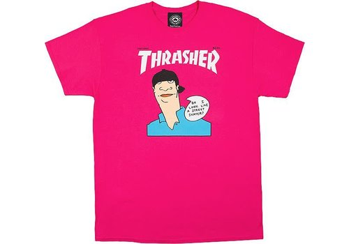 Thrasher Thrasher Gonz Cover Tee Pink