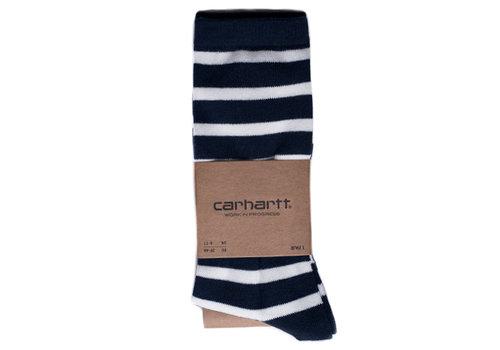 Carhartt WIP Carhartt Manson Stripe Socks Navy/Wax