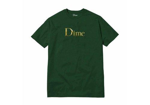 Dime Dime Legendary Logo Tee Emerald Green