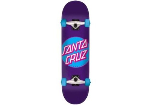 Santa Cruz Santa Cruz Classic Dot Purple Complete 7.8