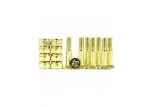 Industrial Anodized 1inch Phillips - Yellow