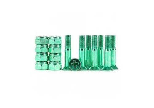 Industrial Anodized 1inch Phillips - Green