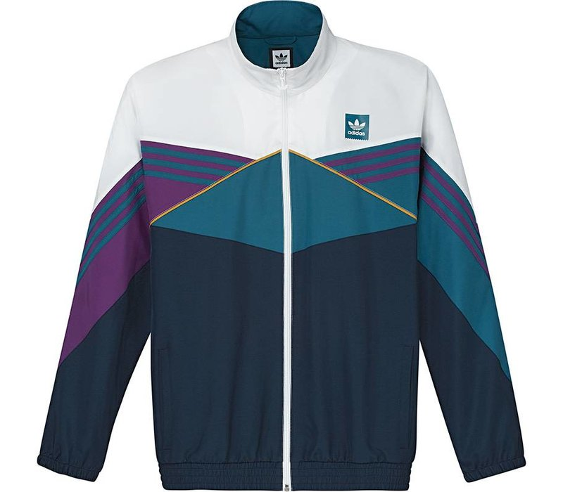 Adidas Court Jacket  White/Navy/Tripur