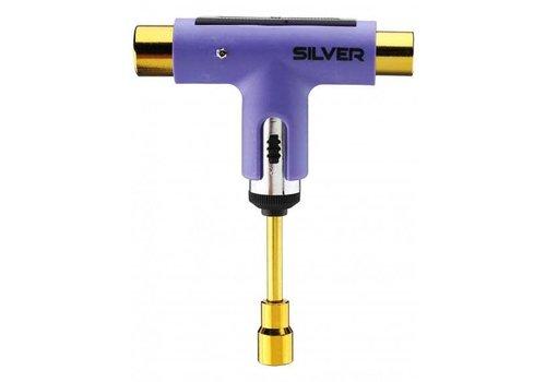 Silver Silver Tool Neon Purple
