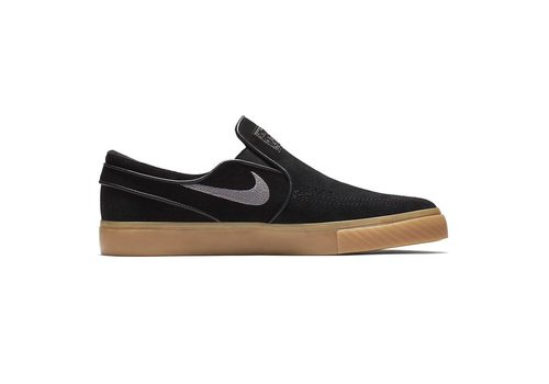 Nike SB Nike SB Janoski Slip On Black/Gunsmoke