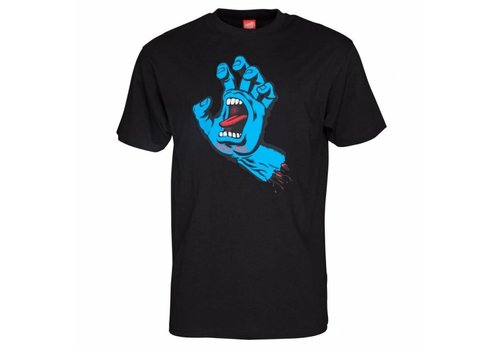 Santa Cruz Santa Cruz Screaming Hand Tee Black