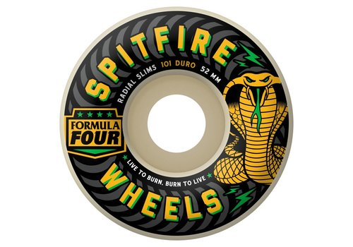 Spitfire Spitfire Wheels F4 Radial Slim Speed Kills 54mm