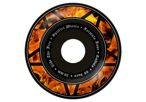 Spitfire Spitfire Wheels - F4 Hellfire Radial Black 54mm