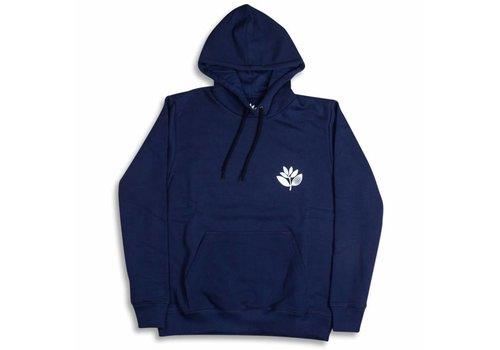 Magenta Magenta Plant Hoodie Navy