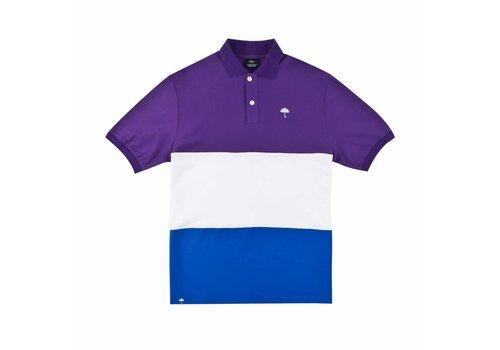 Hélas Helas Trio Polo Purple/White/Blue