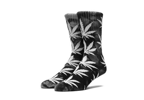 HUF Huf Plantlife Tie Dye Crew Socks Black