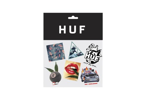 HUF Huf FA18 Sticker Pack Multi
